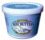 Boy Butter H20 Lubricant 16 oz Tub (latex condom safe)