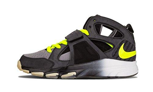 Nike Men's Zoom Huarache TR MID WM Super Bowl Edition 11.5 M US Black Volt Grey (Zoom Huarache)