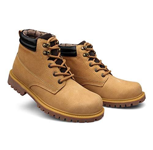 da amp; Lacci Uomo Stivali Inverno Scarpe B Stivali da Piatto Tacco X4IUIz