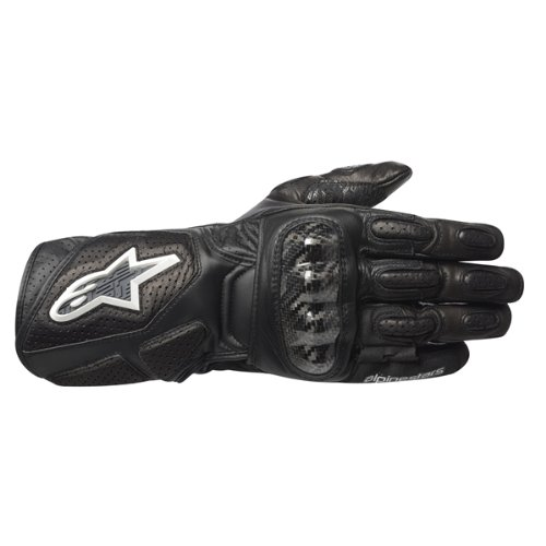 Alpinestars Womens Stella SP-2 Leather Motorcycle Gloves Black Small S