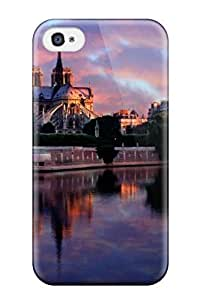 CaseyKBrown WDNSOFC37xWHzH Protective Case For Iphone 4/4s(amazing Notre Dame At Sunrise Paris France)