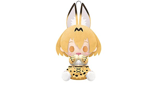 KOTOBUKIYA Pitanui Kemono Friends SERVAL Plush Doll NEW from Japan