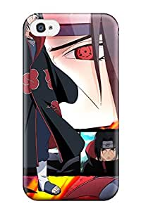 Iphone 4/4s Case Cover - Slim Fit Tpu Protector Shock Absorbent Case (ichaci 8211 Naruto)