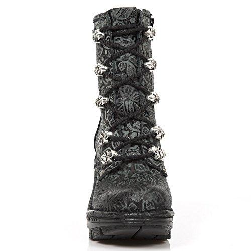 Nuovo Nero Stivali M noir Da Rock Donna S1 Neotr054 rSqwrC4