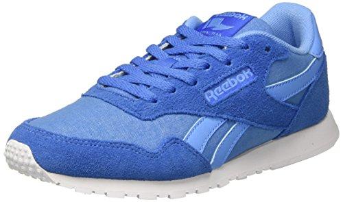 Blue Sky Mujer Running Trail Echo Azul de Bd3365 para Reebok White Blue Zapatillas 1xwPvWZ