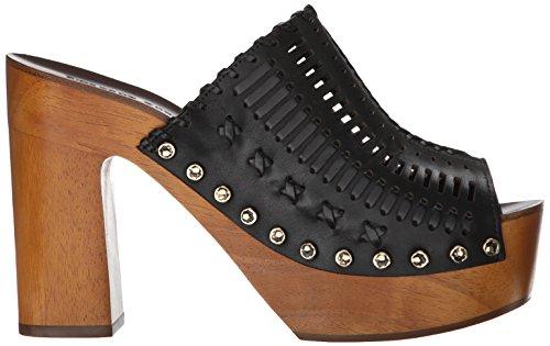 Sigerson Women's Morrison Sandal Black Queen Platform 5a0w5r