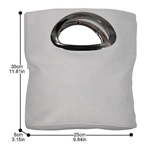 Lady Female Handbags Wiwsi Casual Messenger Bags Tote white Fashion Giftblack Women Party X4qUwY