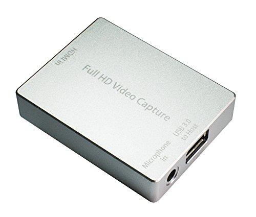 HornetTek HDMI Video Capture Device / Video Game Recorder with Mic Input USB 3.0 1080P 60 FPS Video & Audio Grabber by HornetTek (Image #4)