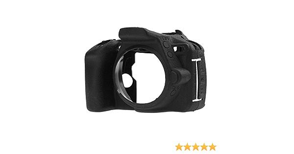 KESOTO Shockproof Camera Body Case Anti-dirt Soft Protective Case for Nikon D5500 D5600 Digital Camera Black Durable Rubber Camera Cover