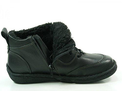 Josef Seibel 85134-PL950 Neele 34 Damen Stiefeletten Boots Warmfutter, Schuhgröße:39;Farbe:Schwarz