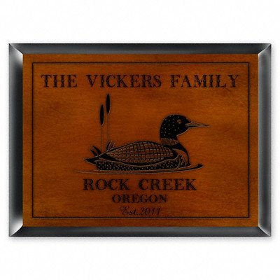 JDS MARKETING & SALES Personalized Gift Cabin Series Traditional Sign