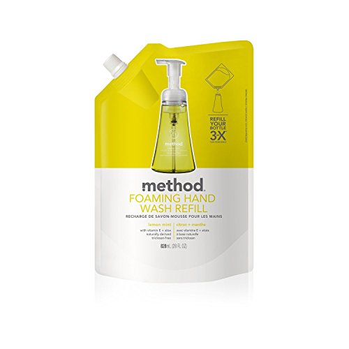 (Method Foaming Hand Wash Refill, Lemon Mint, 28 Fluid Ounce 2 Pack)