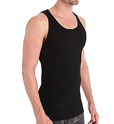 Calvin Klein Men's Undershirts Cotton Classics 3 Pack Tank Tops