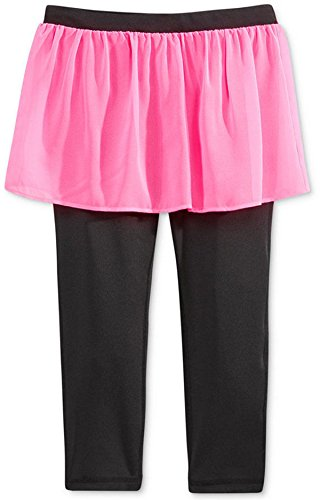 Ideology Girls' Pink Hustle Skirted Capris (Large 14) by Ideology