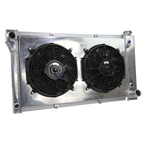 Primecooling 3 Row Core All Aluminum Radiator +2X12