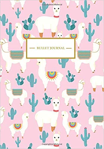 Bullet Journal: Lama Notizbuch A5 Dotted Bullet Journal ...