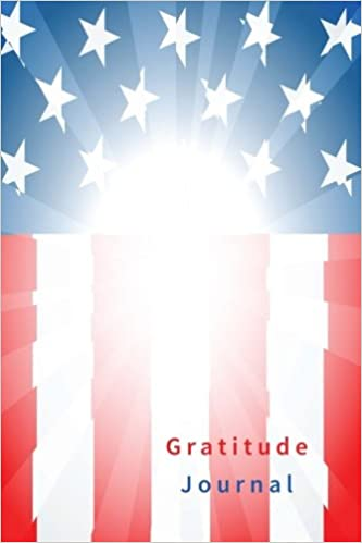 gratitude journal 110 pages softcover 6 x 9 inches blue