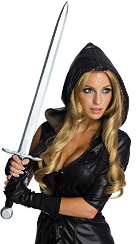 Rubie's Costume Co Women's Sucker Punch Sweet Pea Novelty Sword, Multi, One (Plastic Armor Costume)