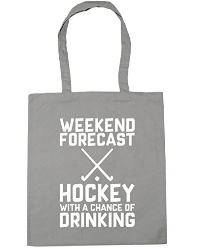 HippoWarehouse Drinking Chance Tote Forecast a With of Bag x38cm Light Gym Grey 42cm Weekend litres Beach 10 Shopping Hockey pwnxrg0pq