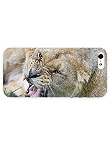 3d Full Wrap Case for iPhone 6 plus 5.5 Animal Angry Lioness33