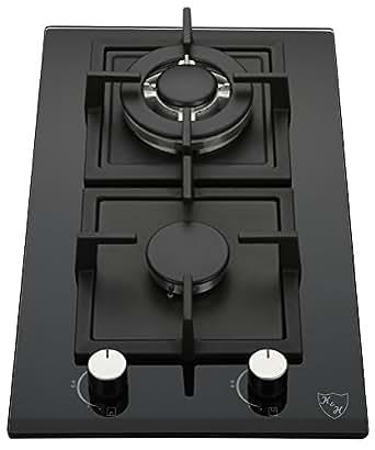 Amazon.com: K&H 2-GCW-LPG 2 quemadores de vidrio de gas ...