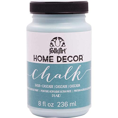 - FolkArt Home Decor Chalk Furniture & Craft Paint in Assorted Colors (8 Ounce), 34159 Cascade