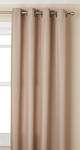 Metal Polyester Thread (Curtainworks Monterey Grommet Curtain Panel, 52 by 108