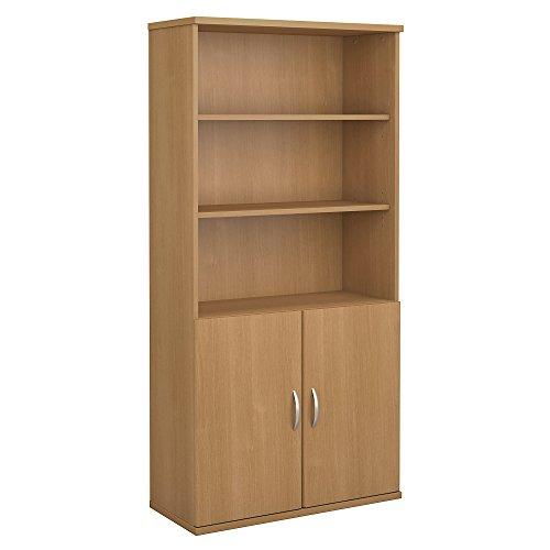 Door Height Kit Half (Bush Business Furniture Series C 36W 5 Shelf Bookcase with Doors in Light Oak)