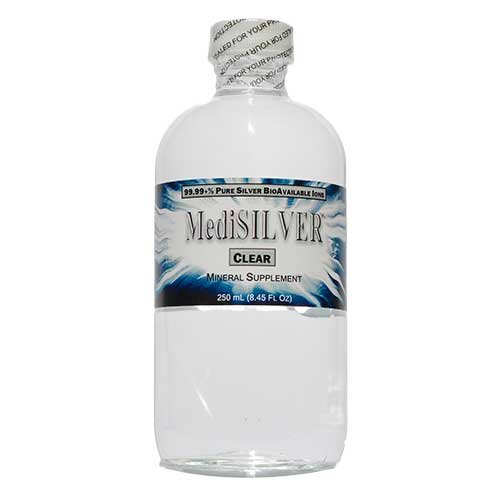 MediSILVER CLEAR (20 Ppm 99.99+% Pure Bioavailable Ionic