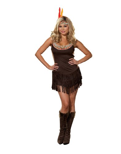 Dreamgirl Women's Native Indian Princess Costume