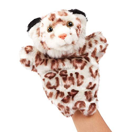 HOUWSBABY 봉 호랑이의 손을 꼭두각시 열리는 움직일 수 있는 입에 대한 상상력을 재생 또는 역할을 재생 동물 봉 제 장난감 선물을 위한 아이들이 아기는 성숙한 유치원 조기 교육은 부모-자녀가 스토리텔링 활동