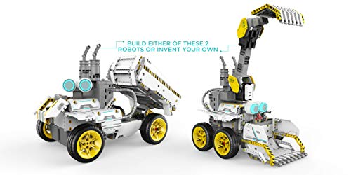 UBTECH JIMU Robot Builderbots Series: Overdrive Kit / App-Enabled Building and Coding STEM Learning Kit (410 Parts and Connectors) by UBTECH (Image #3)