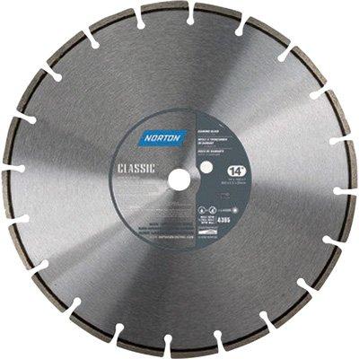 "UPC 701846813259, Norton Classic Masonry Diamond Blade, 1"" Arbor, 14"" Diameter x 0.100"" Thickness, 0.326"" Segment (Pack of 1)"