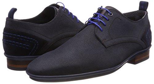 Blue Blu Derby Uomo Floris 14007 Van Scarpe Bommel Stringate dark 01 w0xAzqHx