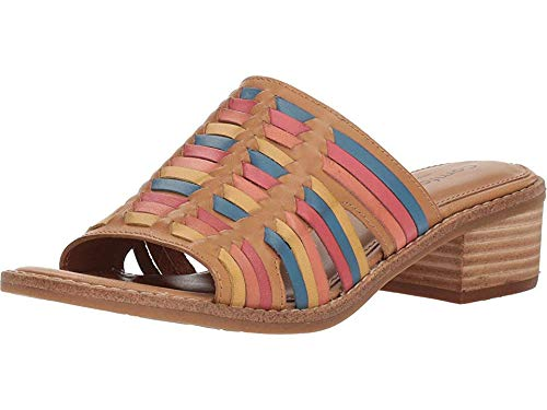 - Comfortiva Women's Brileigh Sand/Multi M-Vege 9 W US