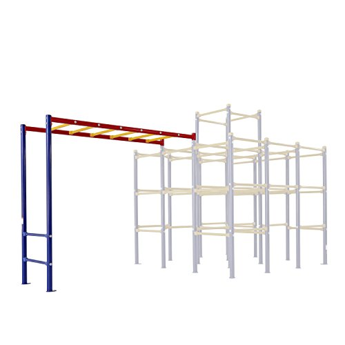 Modular Playground Equipment - Skywalker Sports Monkey Bars Module, Requires Jungle Gym (Model SJG200)