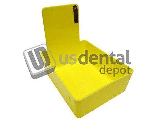 - KEYSTONE - Classic Lab Work Pans - Yellow w/clip - 12pk - ma 034-7000373 Us Dental Depot