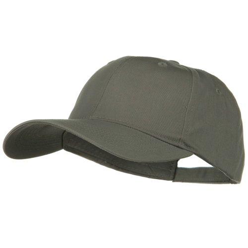 E4hats New Big Size High Profile Twill Cap - Grey (For Big Head)