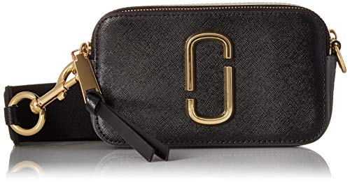 Marc Jacobs Women's Snapshot Camera Bag, Black Multi, One Size ()
