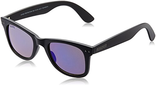 MTV Roadies Wayfarer Sunglass (Black) (RD-112-C4)