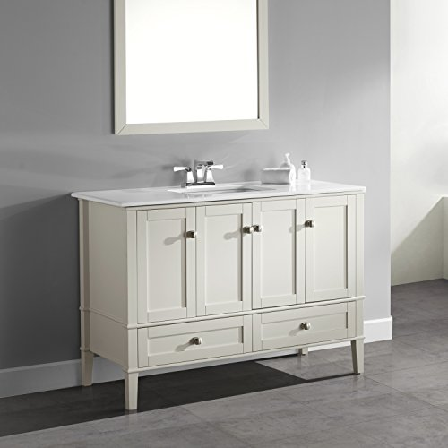top 10 best bathroom vanities 48 inch top reviews no place called home. Black Bedroom Furniture Sets. Home Design Ideas