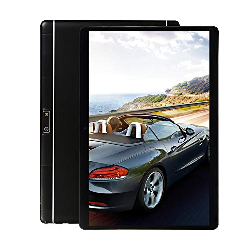 10 inch Tablet PC,5G Wi-Fi,4GB RAM,64GB Storage, Eight-Core Processor, IPS HD Display,3G Phablet with Dual Sim Card Slots,Bluetooth,GPS, Android Tablets for Kids