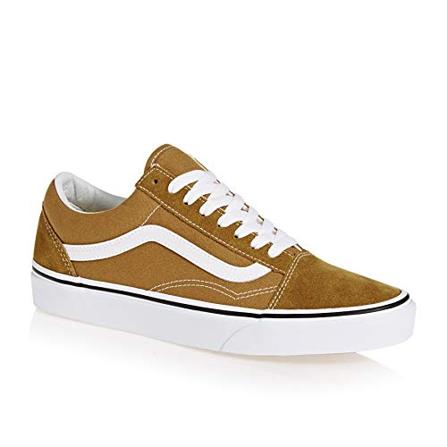 Vans Unisex Old Skool Cumin True White Classic Skate Trainers Size 8