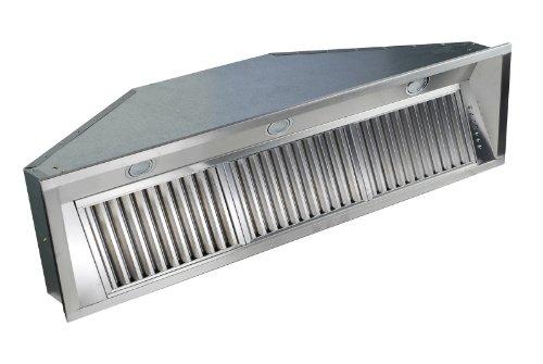 Z Line 695-46 Deep Stainless Steel Range Hood Insert, 46-Inch