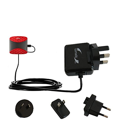 International AC Home Wall Charger suitable for the Game Golf - 10W Charge supports wall outlets and voltages worldwide - Uses Gomadic Brand TipExchange by Gomadic