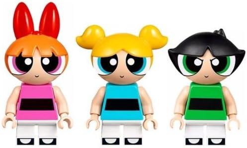 LEGO Powerpuff Power Puff Girls Nickelodeon Minifigures Complete Set - Blossom, Buttercup, & Bubbles