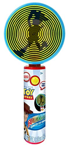 Disney Pixar Toy Story 4 Light Up Fanimation Fan with Candy, 8 Inch