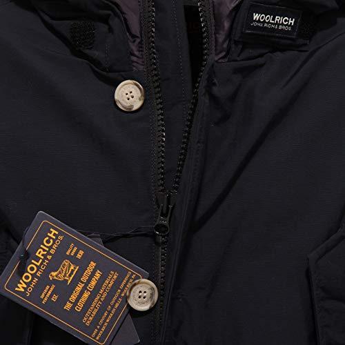 Piumino Blue Blu 6364x Woolrich Artic Parka Jacket Boy Scuro Bimbo x1CqwH