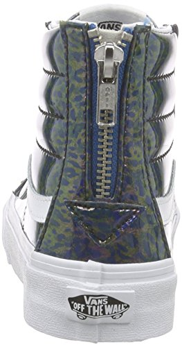 l Bleu Sk8 Unisexe Baskets Zip salut Mince Camionnettes Adulte pX8wqpC
