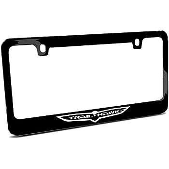 Dodge Charger Stripes Metal Zinc License Plate Frame Tag Holder Official License